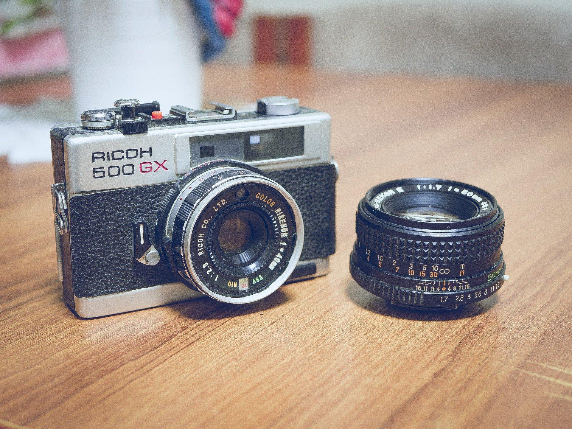 come utilizzare vecchia fotocamera
