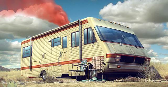 porta incenso breaking bad